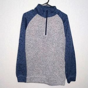 Old River blue & grey pullover
